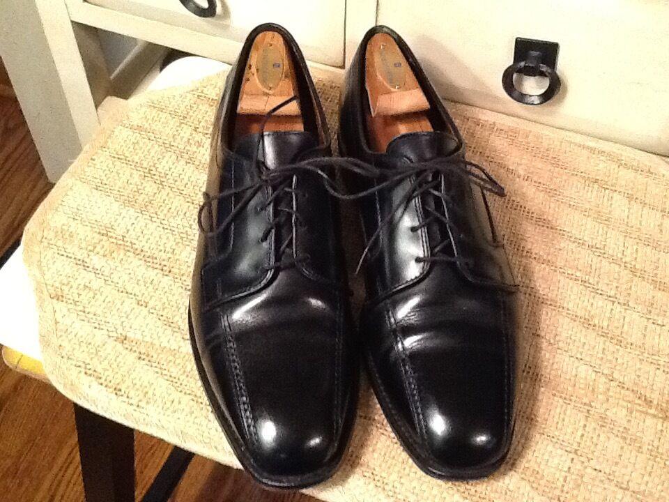 ALLEN EDMONDS  SAGAMORE BLACK OXFORD SIZE Herren DRESS Schuhe 19760  SIZE OXFORD 10 D aca92d