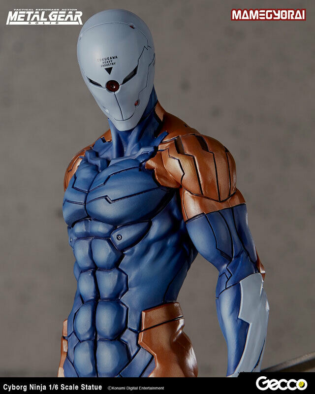Metal Gear Solid Cyborg Ninja 1 6 Gecco Japan NEW