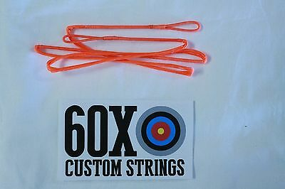 "68/"" 18 Strand Black Dacron B50 Longbow Bowstrings by 60X Custom Strings Bow"