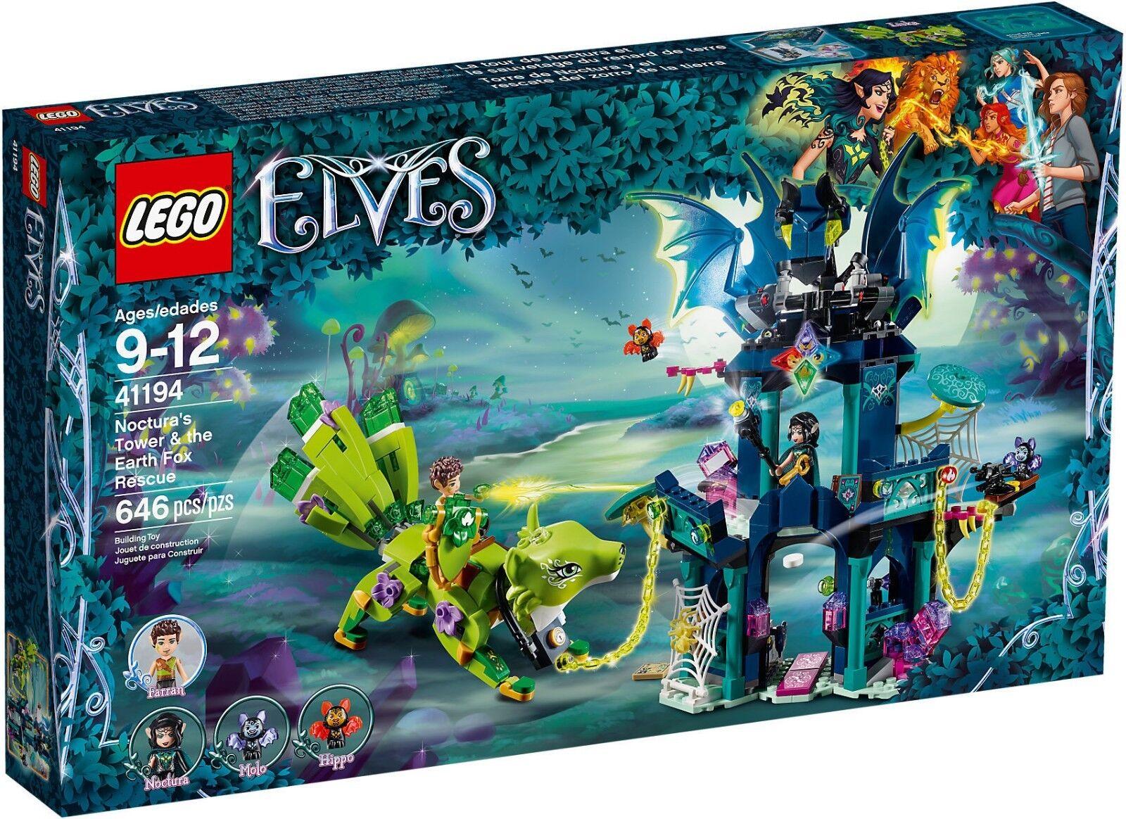 LEGO Elfen 41194 - der Turm der Noctura Und die Speichern der Fox des Landes