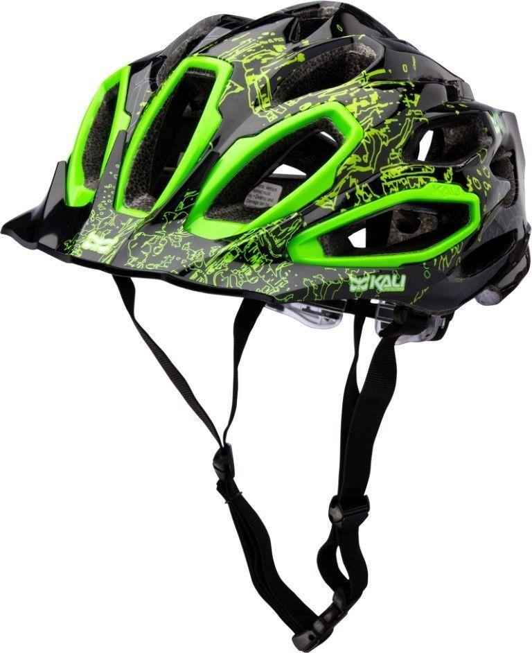 Kali Maraka MTB XC Helmet - Lime Green 52 – 58cm