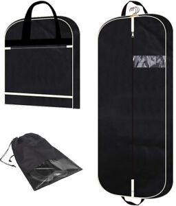 Details About Garment Bag Suit Extra Large Pockets For Travel Men Women Foldable Lightweight