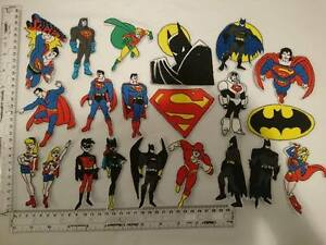 1-NEW-SEW-IRON-ON-EMBROIDERED-SUPER-HERO-SUPERHERO-MOTIF-PATCH-APPLIQUE-BADGE