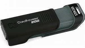 Kingston DataTraveler 200, ekstern, 128 GB