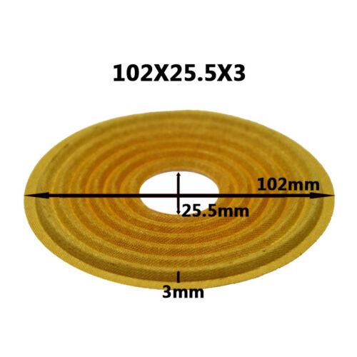 102x25.5//103x25.5//103x35.5//105x25.5mm Speaker Spider Damper Woofer Repair Parts