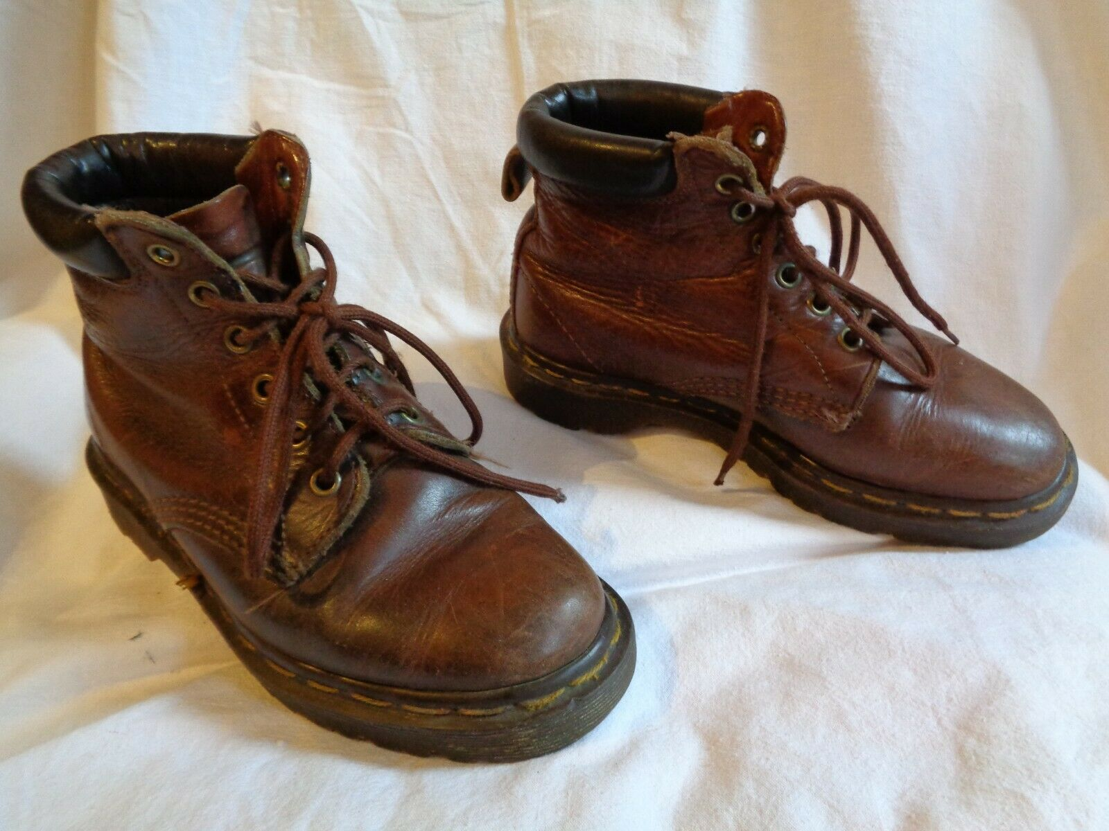 Dr. Martens Stiefelette Stiefel Stiefel Leder braun Gr.36 Nr26 unisex Docs cuir 36