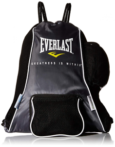 Details About Everlast Mma Boxing Glove Gym Bag Finess Sack Water Bottle Holder Training Gear