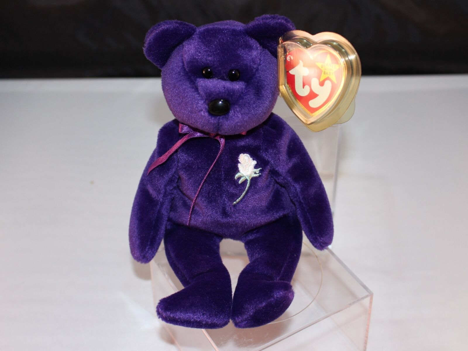 Rare 1997 Princess Diana Ty Beanie Baby 1st 1st 1st Edition Perfect Condition Retired 3a0dfb