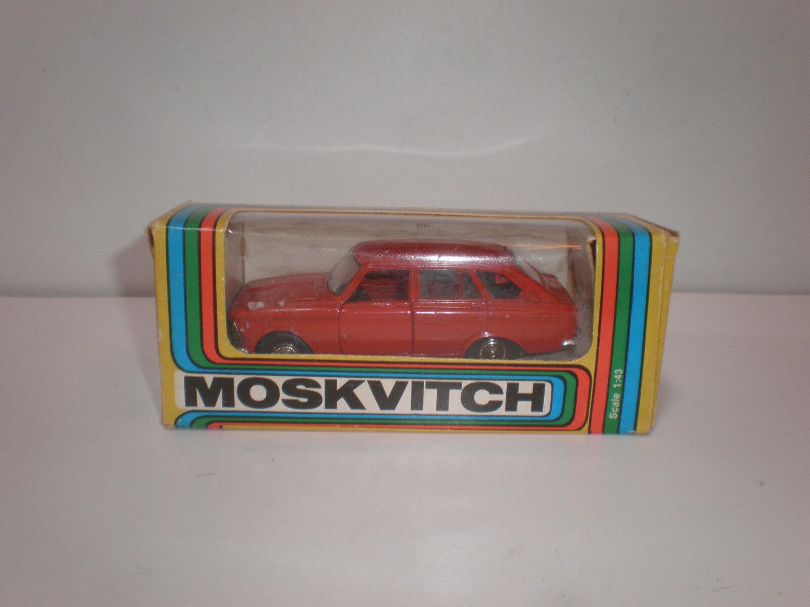 1/43 Moskvitch-Izh 1500 Kombi A12 Rojo USSR/CCCP 2018 Diecast Modelo