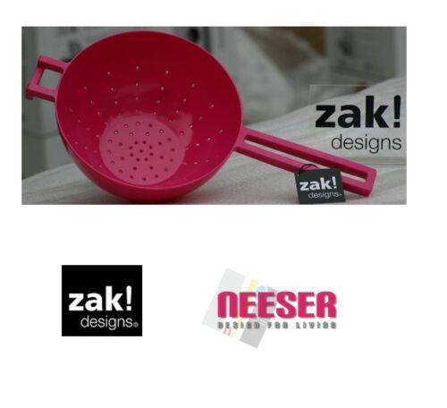 Zak Designs Meeme Stielsieb aus 100/% Melamin in verschiedenen Farben