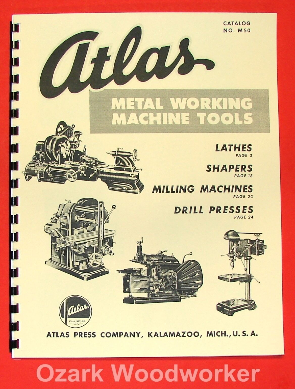 ATLAS Press Co. Lathe, Shaper, Mill, Drill Press CATALOG 0039