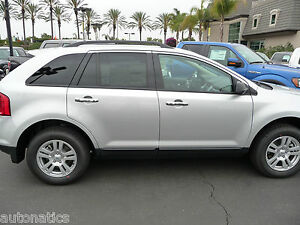 Image Is Loading Ford Edge One Keyhole  Tfp Abs Chrome