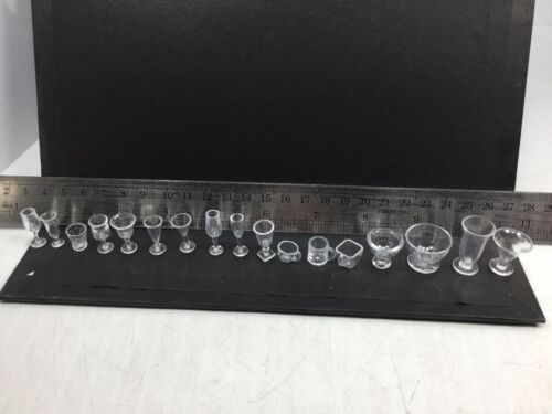 1//6 LOT OF 17 BOWLS,VASES,CUPS /& GLASSES HASBRO DID DRAGON BBI WW2 21ST CENTURY