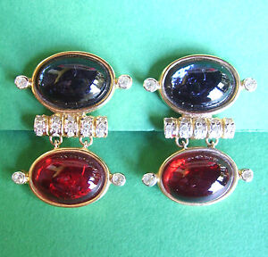 Constructif 755 / Vintage Valentino Earrings Effet éVident