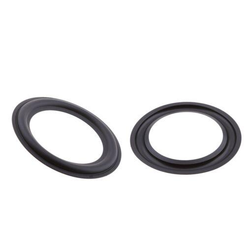 2x 5 Zoll 125 mm Lautsprecher Surround Rubber Woofer Edge Audio Repair