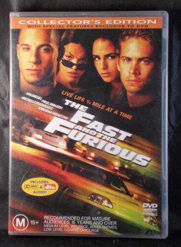 1 of 1 - The Fast and the Furious - Paul Walker, Vin Diesel - DVD - Region 4