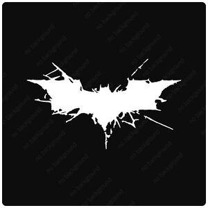 Image Is Loading Batman Dark Knight Rises Symbol Vinyl Decals Stickers