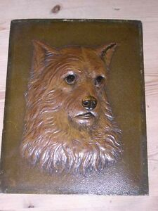 ORIG LARGE ANTIQUE NORWICH TERRIER DOG PICTURE  PAINTING 1910 - <span itemprop='availableAtOrFrom'>Warrington, United Kingdom</span> - ORIG LARGE ANTIQUE NORWICH TERRIER DOG PICTURE  PAINTING 1910 - Warrington, United Kingdom