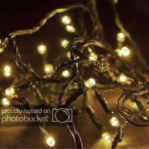 Weihnachtsbeleuchtung Mit Timer.Details Zu Led Lichterkette Mit Timer 20 Lampen Außen Weihnachtsbeleuchtung Warmweiß Party