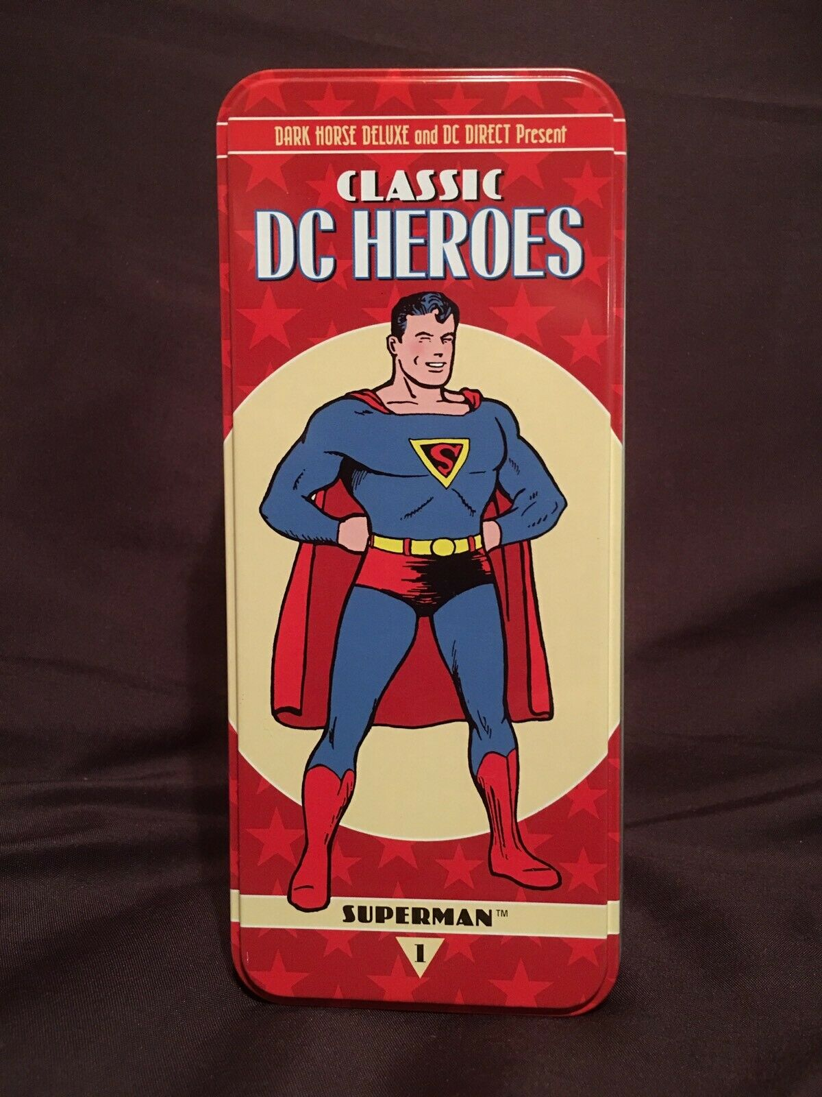 RARE Dark Horse Superman Classic DC Heroes Syroco Figure 2007 A P 1 OF 35