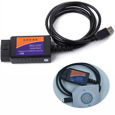 USB Interface OBD2 II V1.5 ELM327 Diagnostic Auto Car Scanner Scan Tool Adapter