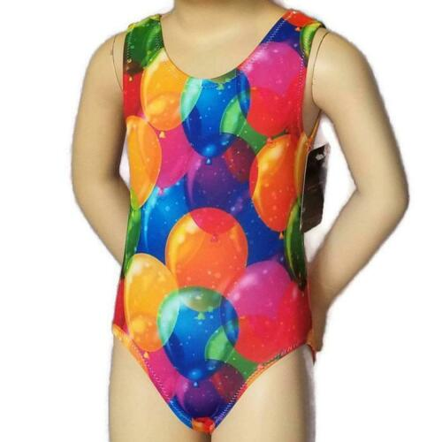 7 /& 9 NWT Birthday Balloons Girls Sizes 4 6 Gymnastics Leotard 5