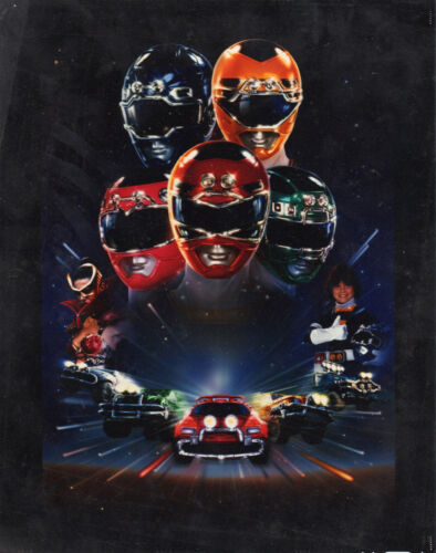 Power Rangers Turbo Movie Giant Poster A0 A1 A2 A3 A4 Sizes