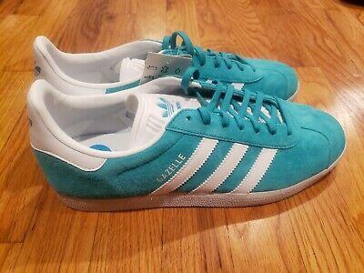 Adidas Gazelle Sneakers Aqua White