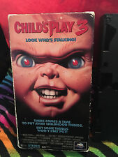 Child's Play 3       (VHS, 1992) Justin Whalin Perrey