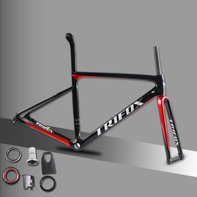 Carbon Fiber Frame Bikes For Sale Ebay >> Carbon Road Bicycle Frame Disc Brakes Di2 Mechanical 3k Carbon Fibre Road Bikes