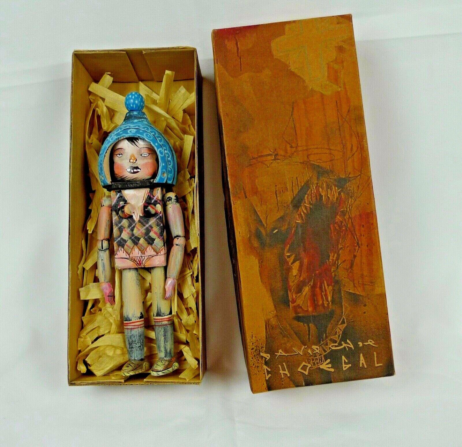 David Choe - CHOEGAL  Ningyoushi 8  Handmade & painted Toy Doll