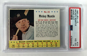 1963-Jell-O-Mickey-Mantle-15-New-York-Yankees-Hand-Cut-PSA-4-VG-EX