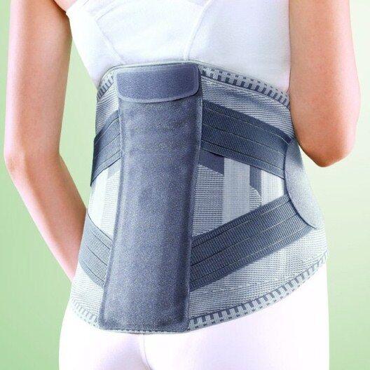 Oppo AccuTex 2951 Back Support Lumbar Brace Stay Belt Strap Lower Backache Pain