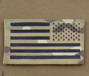 Ir-Cordura-Laser-Cut-Patch-034-American-USA-Flag-Mult-Rv-034-With-Velcro-Brand