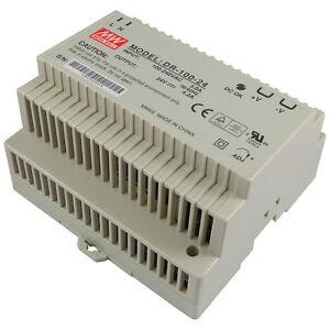 Din Rail Power Supply 5v 12v 24v 48v Meanwell Dr Series