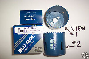 2-1-8-034-Hole-Saw-Bit-Bi-Metal-1-7-8-034-Depth-BMB