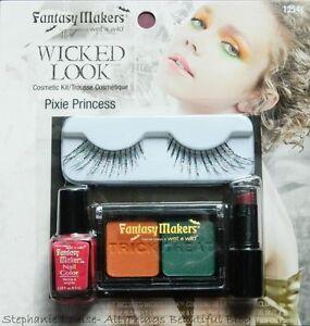 PIXIE-PRINCESS-MAKEUP-KIT-Cosmetic-Adult-Women-Costume-Glam-Makeup-Eyelashes-NEW