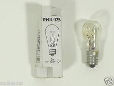 Philips 234492-6S6 24V Candelabra Screw Base Scoreboard Sign Light Bulb