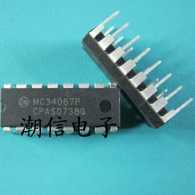 MC34067P DIP16 Integrated Circuit from ON Semiconductor