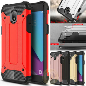 best service c33d3 ca3ab Details about Rugged Armor Shockproof Case For Samsung Galaxy J3 2018 / J3  Star /J3 Achieve