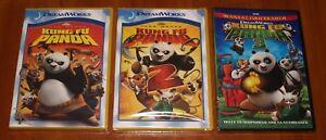 Kung Fu Panda 1 2 3 Set Dreamworks 3x Dvd English Greek Region 2 New Ebay