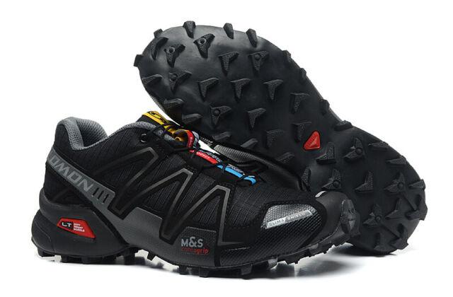 New Men's Salomon Speed Cross 3 CS Running Sports Outdoor Hiking Athletic Shoes