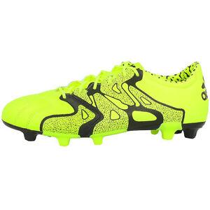 pretty nice 43d85 f666b La imagen se está cargando Adidas-x15-2-FG-AG-leva-Zapatos-Botas-