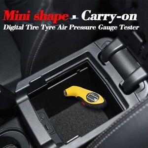 Air Pressure Gauge Tester Tool for Auto Motorcycle Car Van Bike LCD Digital Tyre