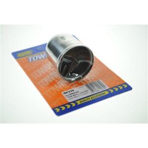 AgréAble Bouchon De Remorque Aluminium Bk - Maypole Tow Ball Cap Mp239b
