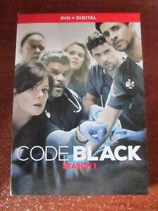 DVD CODE BLACK SEASON 1 DVD + DIGITAL  GREAT  **** MUST SEE *****