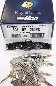 Taylor-SC1-Nickel-Key-Blanks