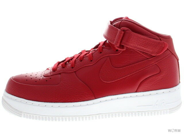 NIKELAB AIR FORCE 1 MID 819677-600 gym red gym red-white Size 9.5