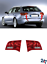 NEW AUDI A6 C6 2004-2010 REAR INNER TAIL LIGHTS PAIR SET LHD N//S O//S