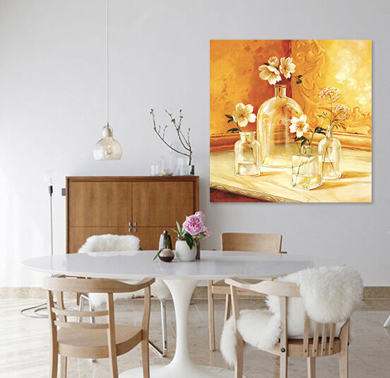 3D Glas vase 62 Fototapeten Wandbild BildTapete AJSTORE DE Lemon